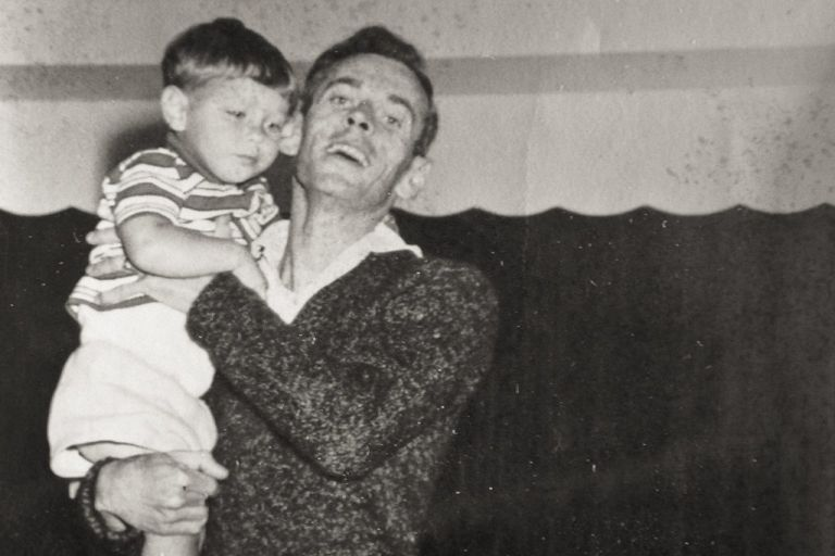 Me and My Dad, early 60's