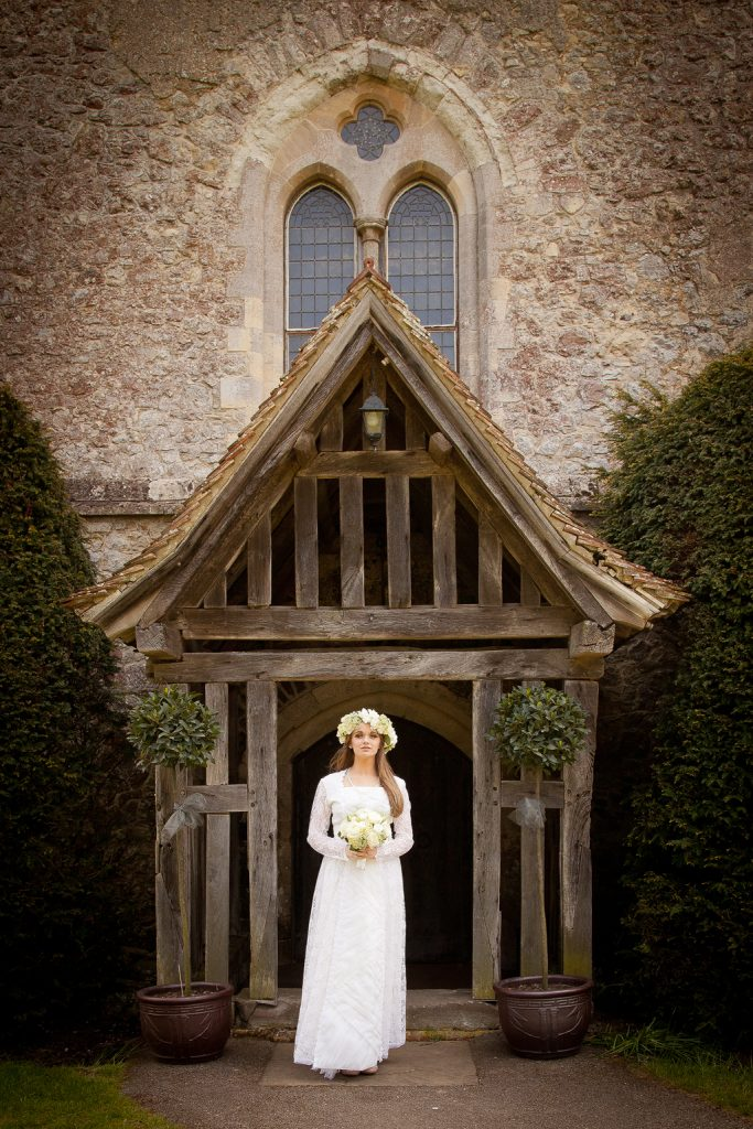Bridal Portrait Bilsington Priory