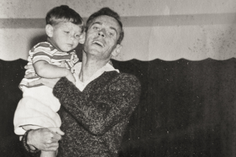 Me and My Dad, early 60